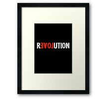 Revolution Love Framed Print