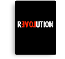 Revolution Love Canvas Print