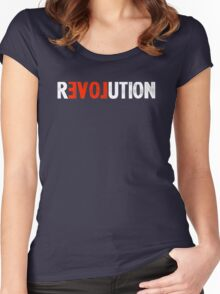 Revolution Love Women's Fitted Scoop T-Shirt