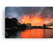 Lust - Moods Of A City - The HDR Series Canvas Print