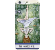 The Hanged One Tarot Card iPhone Case/Skin
