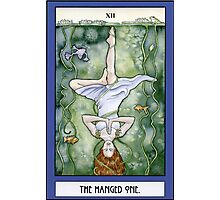 The Hanged One Tarot Card Photographic Print