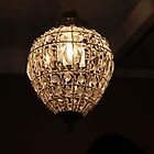 Ceiling Fixture With Sparkle by aussiebushstick