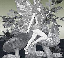 Mushroom Fairy by LoneAngel