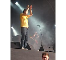 Reverend And The Makers Live @ 3VOLUTION Photographic Print