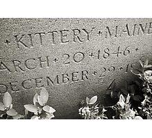Kittery Born Photographic Print