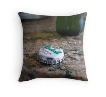 Grolsch Throw Pillow
