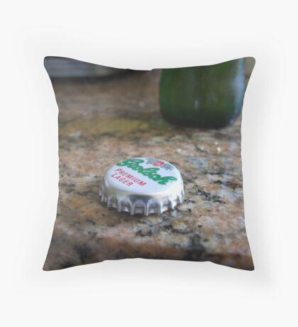 Grolsch Throw Pillow