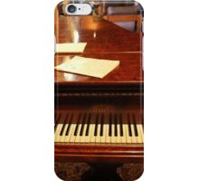 A Grand Keyboard; Waiting For A Piano Man. iPhone Case/Skin