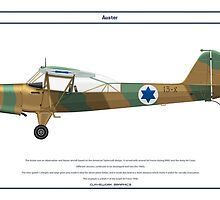 Auster Israel 1 by Claveworks