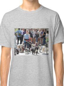 Daniel Radcliffe Walking Dogs Classic T-Shirt