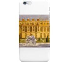 Versailles, Garden Facade iPhone Case/Skin