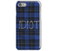 Idiot Flannel 5 Seconds of Summer Phone Case iPhone Case/Skin