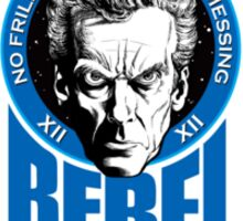 100% Rebel Timelord Sticker