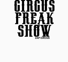 CIRCUS FREAK SHOW - ZAP CIRCUS Black Tank Top