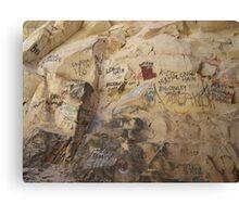 Signature Rock Canvas Print