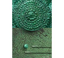Mayan Shield Photographic Print