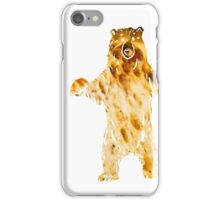 pizza bear iPhone Case/Skin