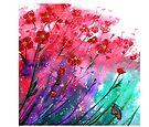 Dancing Poppies  by © Linda Callaghan