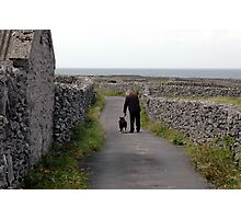 The Inisheer´s walker Photographic Print