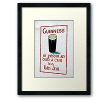 It is IRISH Framed Print