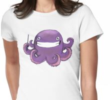 Squid Dude! Womens Fitted T-Shirt