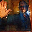 Man In The Mirror - Self Portrait by Barry W  King