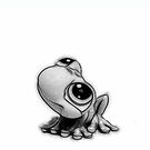 Little frog for iPhone by Nathalie Chaput