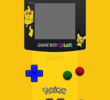 Pokemon Pikachu and Pichu Nintendo Gameboy Color by ~ *