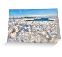 Winter on the North Side of America Greeting Card