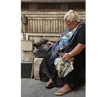 Ancona Woman Photographic Print