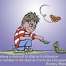 Teaching a child... by ANIMAL WELFARE  CARTOONS NRT