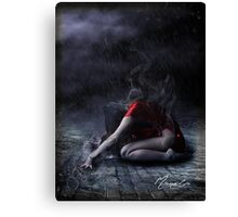 Soul In Cage Canvas Print