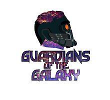Star-lord GOTG Logo Alt Photographic Print