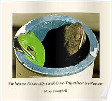 Embrace Diversity Poster