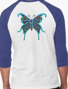 Madame Butterfly Men's Baseball ¾ T-Shirt