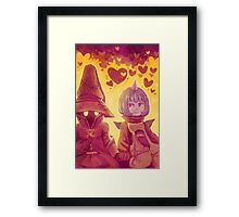 Final Fantasy IX - Eiko and Vivi Framed Print