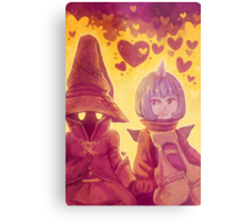 Final Fantasy IX - Eiko and Vivi Metal Print