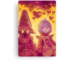 Final Fantasy IX - Eiko and Vivi Canvas Print