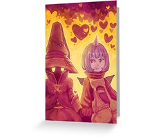 Final Fantasy IX - Eiko and Vivi Greeting Card