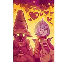 Final Fantasy IX - Eiko and Vivi Photographic Print