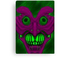 Psych mask Canvas Print