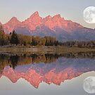 Teton Morning by Charlene Aycock