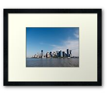 It's Manhattan Man! Framed Print