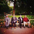 old friends, london by Una Bazdar