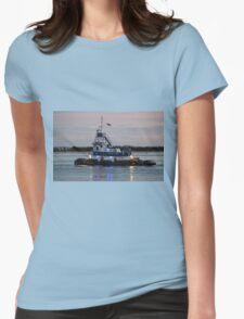 Bayou Dawn Womens Fitted T-Shirt