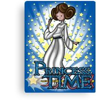 Princess Time - Leia Canvas Print