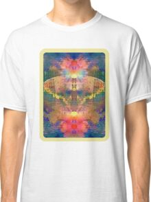 Butterfly in Flowers Classic T-Shirt