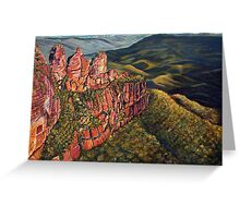 Three Sisters, Blue Mountains, Australia Greeting Card