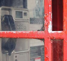 Old telephone booth by Alexandra Lavizzari